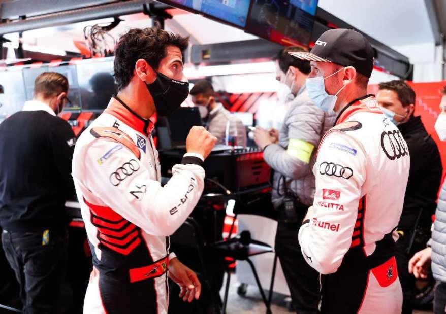 Lucas di Grassi, René Rast,Formula E, Rome E-Prix 2021 ©Audi