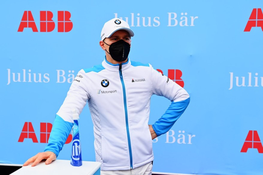 Maximilian Guenther (DEU), BMW I Andretti Motorsport, after Qualifying ©FIAFormulaE