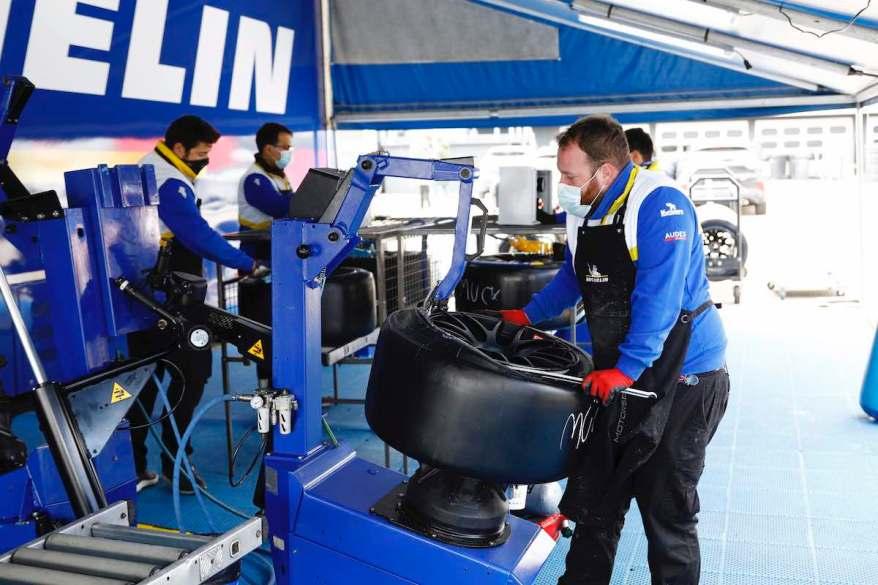 Michelin, reifen,DTM Test Hockenheimring ©DTM
