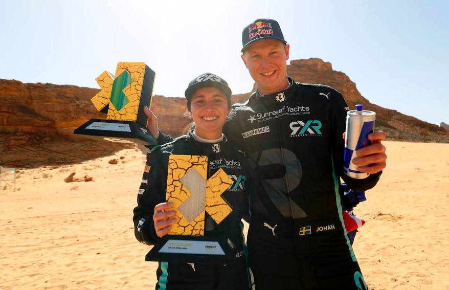 Molly Taylor (AUS)/Johan Kristoffersson (SWE), Rosberg X Racing ©Sam Bloxham / LAT Images