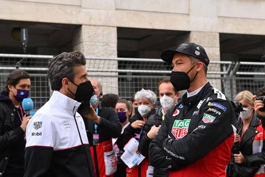 Patrick Dempsey und Andre Lotterer, Porsche @FiaFormulaE