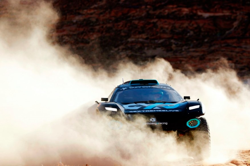 Molly Taylor (AUS)/Johan Kristoffersson (SWE), Rosberg X Racing ©Extreme E ,Sam Bloxham