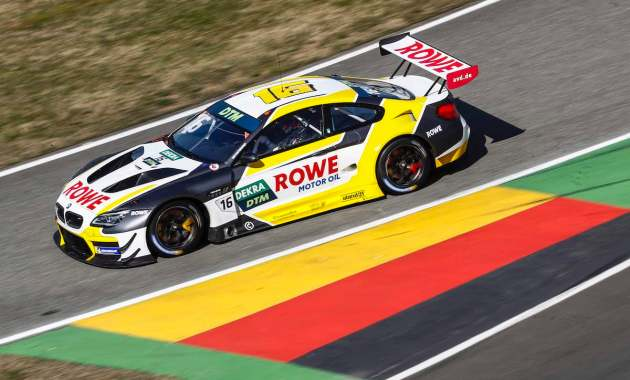 Rowe racing,DTM Test Hockenheimring ©DTM