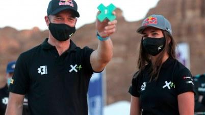 Team X44,Cristina Gutierrez (ESP)/Sebastien Loeb (FRA), X44 ©Extreme E ,Sam Bloxham
