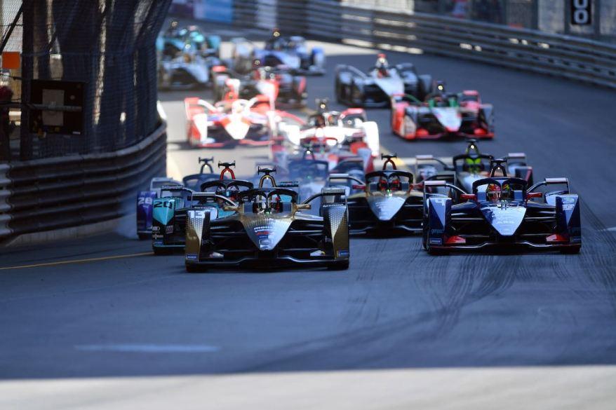 A Felix da Costa Monaco-Sieger 20212 @FIA FormulaE