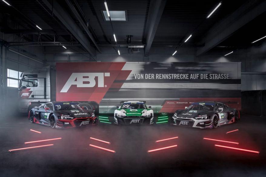 Abt Sportsline mit dem Audi R8 LMS GT3 @ABT
