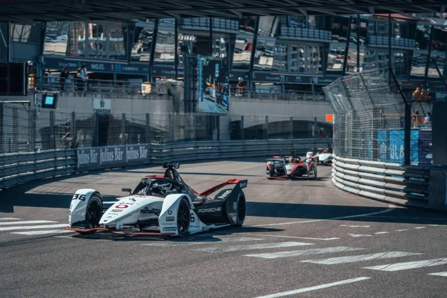 Andre Lotterer in Monaco E-Prix 2021 ©Porsche