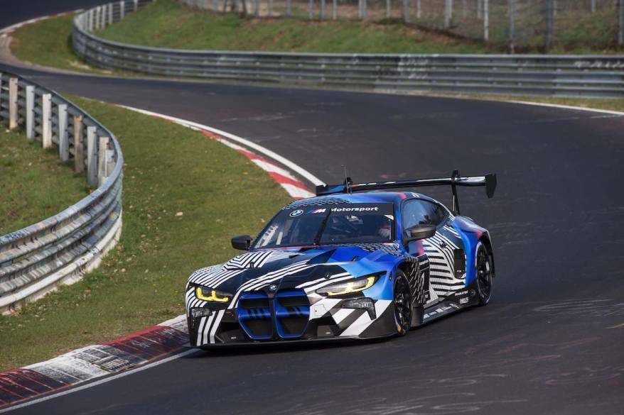 BMW M4 GT3_Nuerburgring ©BMW