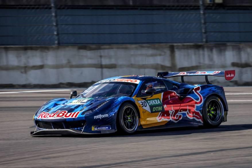 Liam Lawson, Ferrari, DTM Test ©Gruppe C Photography