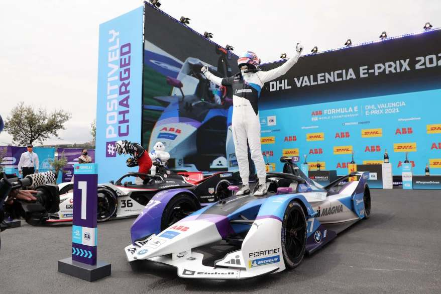 Jake Dennis BMW Sieger Valencia @ BMW