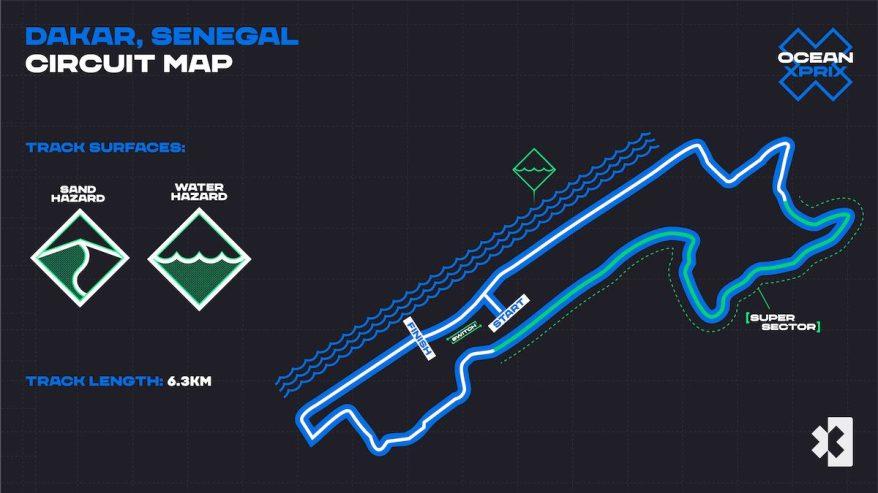 Kurs OCEAN X PRIX_RACE CIRCUIT_@ Extreme E