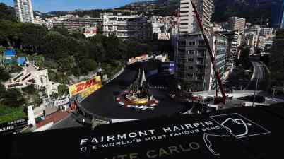 Edoardo Mortara (CHE), Venturi Racing, Silver Arrow 02 Mitch Evans vor Jake Dennis, Monaco 2021 © FIA FormulaE