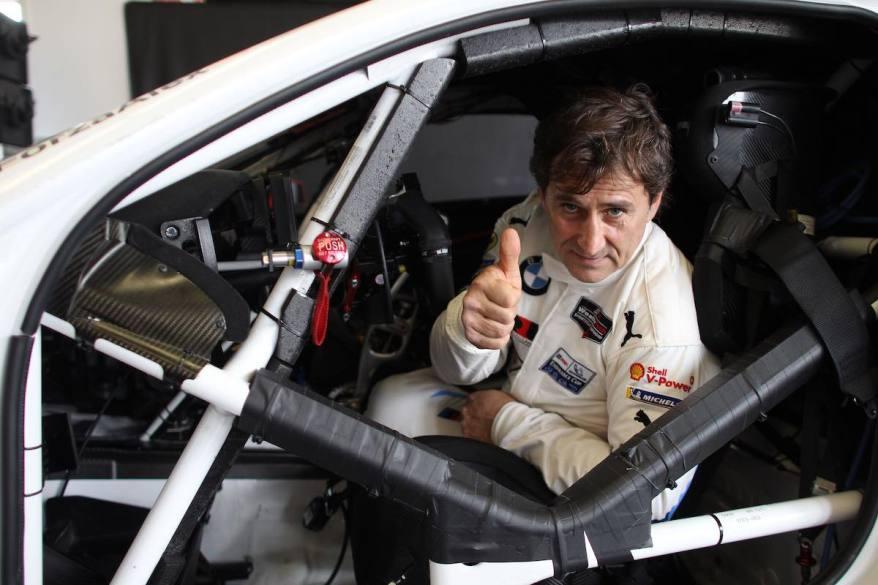 Daytona International Speedway, Alessandro Zanardi (ITA) BMW works driver, BMW M8 GTE #24, BMW Team RLL garage ©BMW