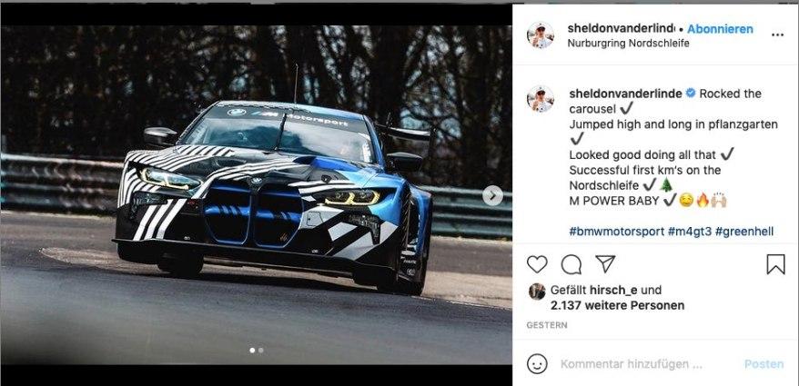 Instagram Sheldon van der Linde ©Instagram, SvdLinde