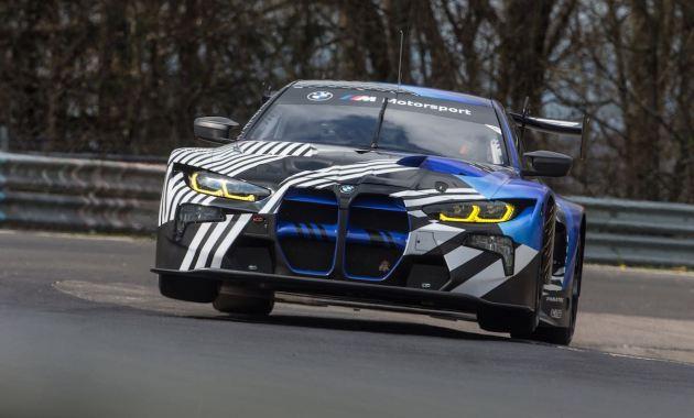 Testfahrt BMW M4 GT3 NBG ©BMW