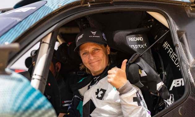 Jutta Kleinschmidt, Abt Cupra XE,Extreme E 2021: Ocean X-Prix ©Colin McMaster