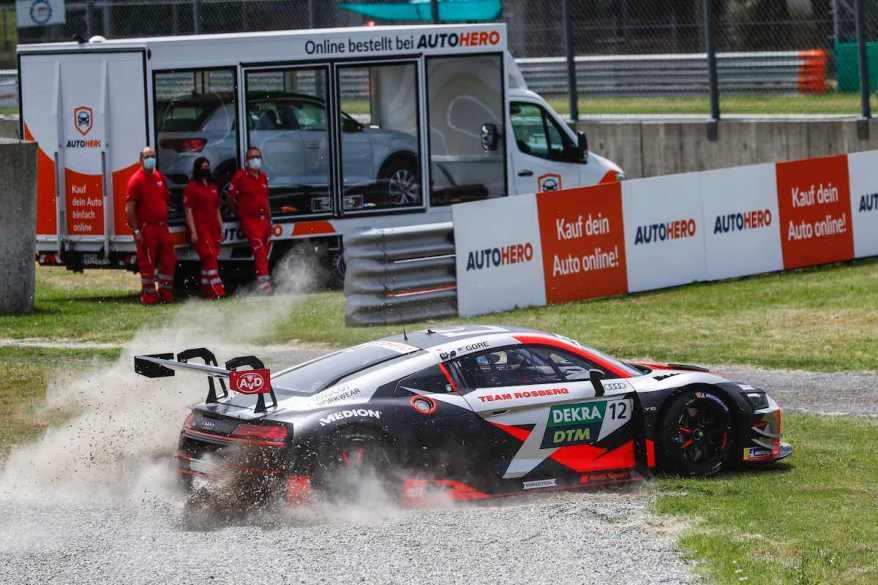 Ausfall Al Gore ,Motorsport: DTM Monza ©Hoch Zwei