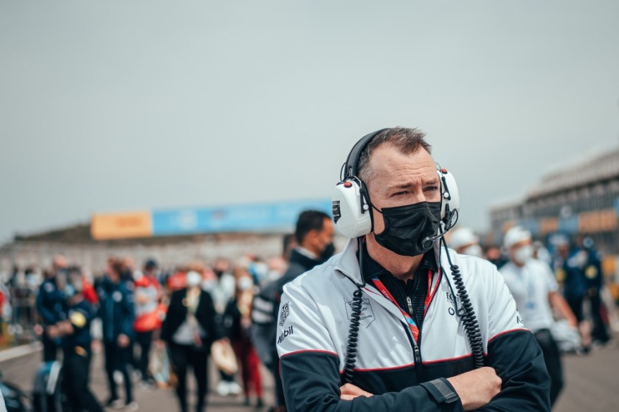 Amiel Lindesay, Porsche Einsatzleiter ©Porsche