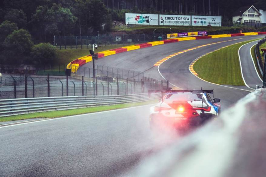 BMW M4 GT3 in Spa ©BMW