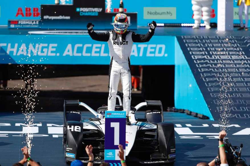 Sieg Edo Mortara,Formula E 2020-2021: Puebla E-Prix II ©Sam Bloxham / LAT Images