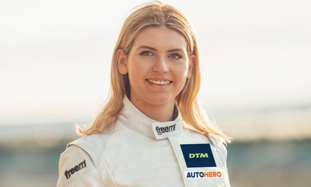 Esmee Hawkey T3 Motorsport ©DTM