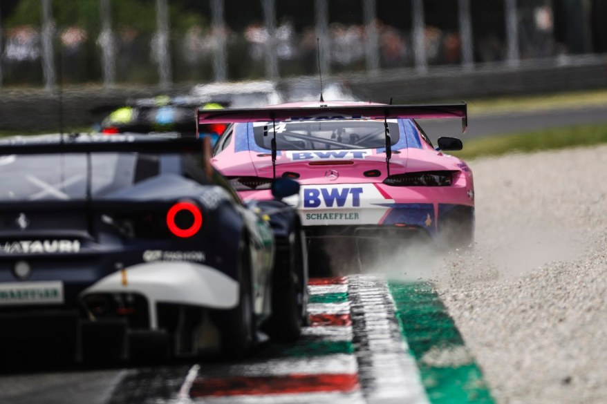 Mercedes vor Ferrari,Motorsport: DTM Monza © Hoch Zwei