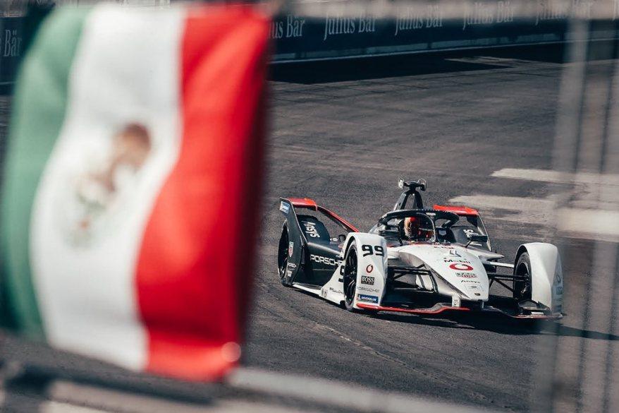Pascal Wehrlein Porsche Mexico ©Porsche