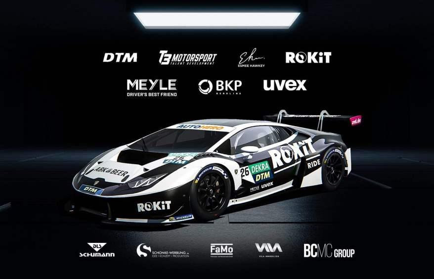 T3 Motorsport mit Lamborghini Huracan GT3 Evo @T3, ROKiT