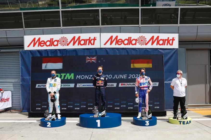Siegespodest Monza DTM,Motorsport: DTM Monza©Hoch Zwei