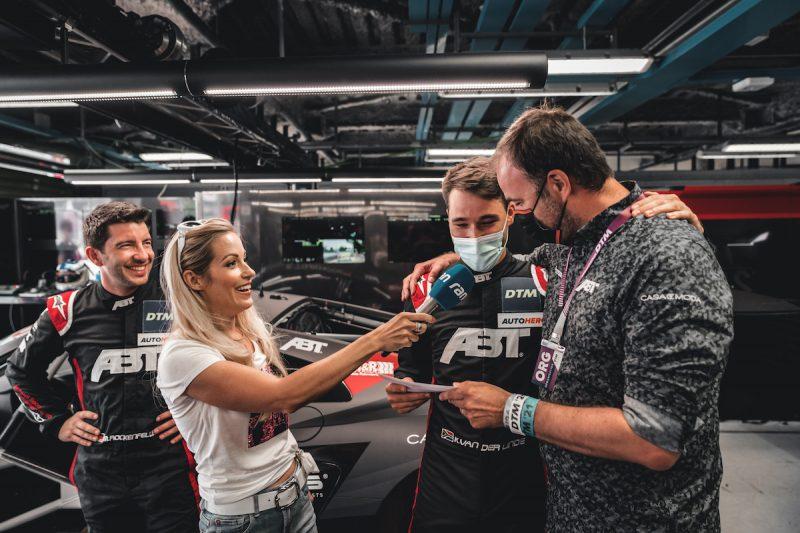 Team ABT Sportsline, ABT Audi R8 LMS Rockenfeller, Kaiser, van der Linde und Biermeier ©ABTDTM Monza