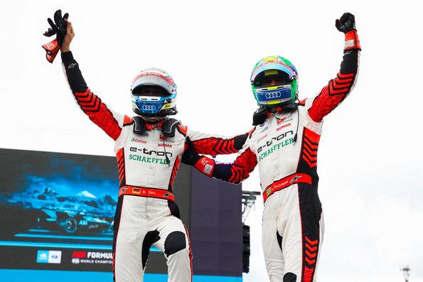 René Rast, Lucas di Grassi, Formula E, Puebla E-Prix 2021 ©Audi