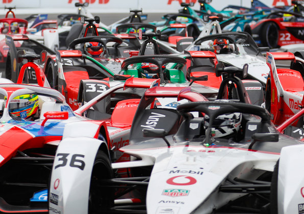 René Rast,Formula E, New York E-Prix 2021 ©Audi