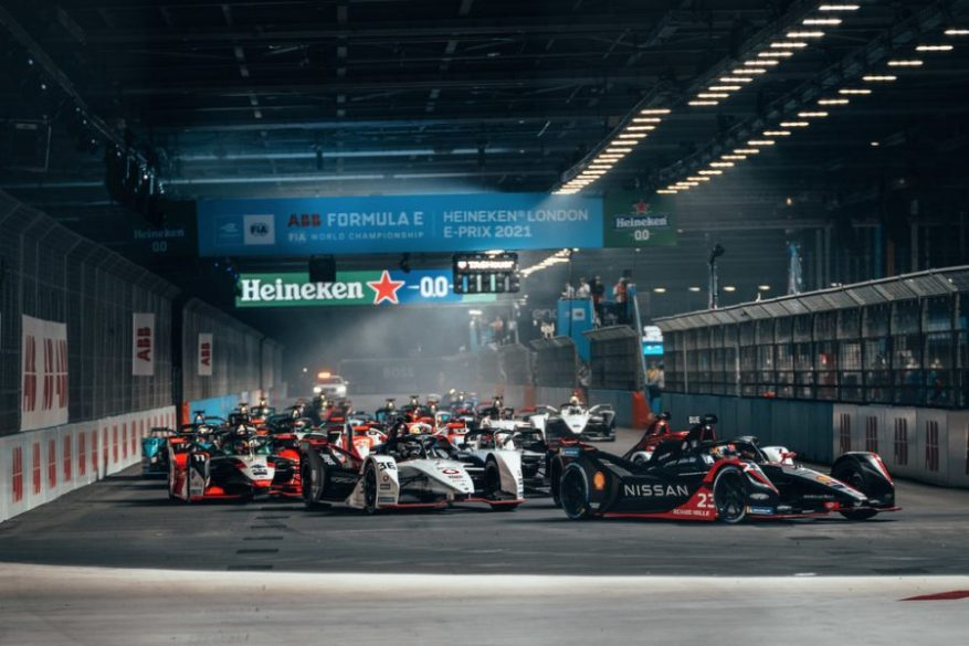 Andre Lotterer,Porsche London E-Prix 2021 ©Porsche