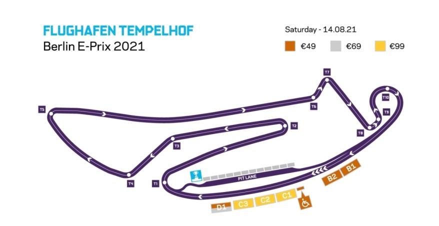 Ticketverkauf Berlin E-Prix 2021 ©FIA FormulaE