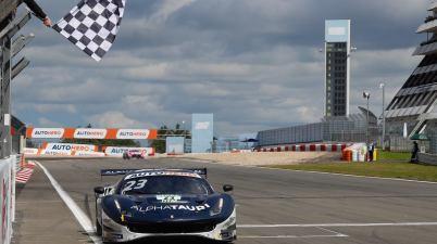 Alex Albon (GB), Ferrari 488 GT3,, Nuerburgring @DTM