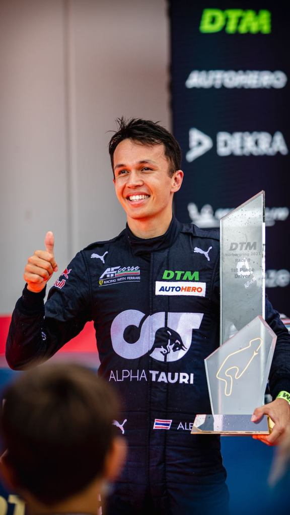 Alex Albon, DTM, 7. + 8. Rennen Nürburgring 2021 @ Gruppe C Photography