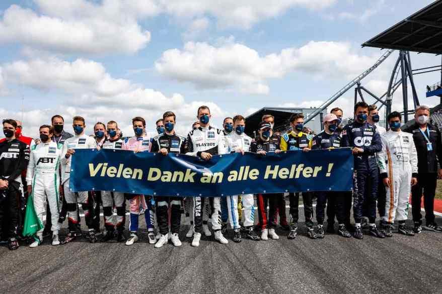 Danksagung DTM Nuerburgring 2021 @Abt