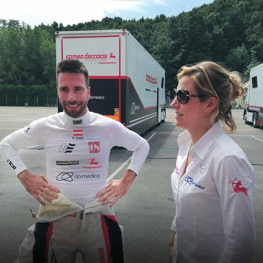 Philipp Eng und Michele Cerruti, Romeo Ferraris ©Romeo Ferraris