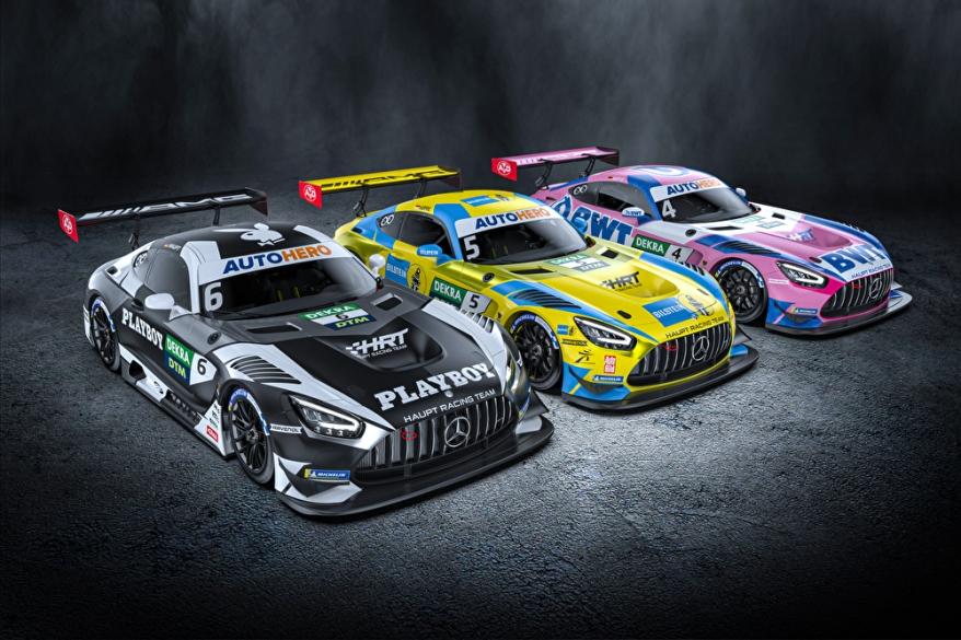 HRT mit 3 DTM Autos @HRT