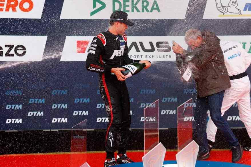 Kelvin van der Linde,DTM Nuerburgring 2021 @ABT