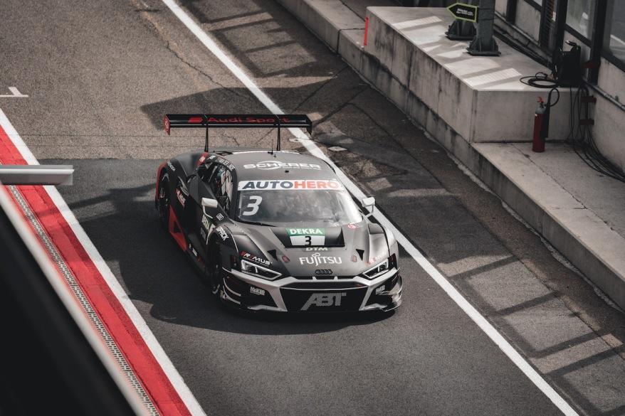 Kelvin vdLinde, Audi @Abt