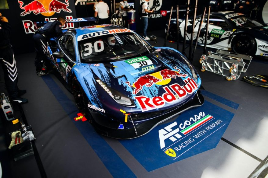 Liam Lawson, Ferrari,DTM, 5. + 6. Rennen Zolder 2021 @Gruppe C Photography