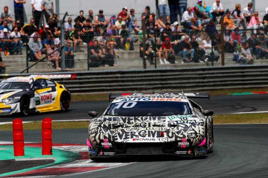 Esteban Muth,Lamborghini ©DTM