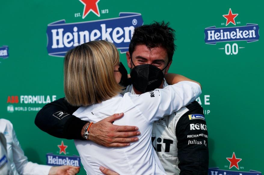 Norman Nato und teamchefin Susie Wolff, @FIA FormulaE