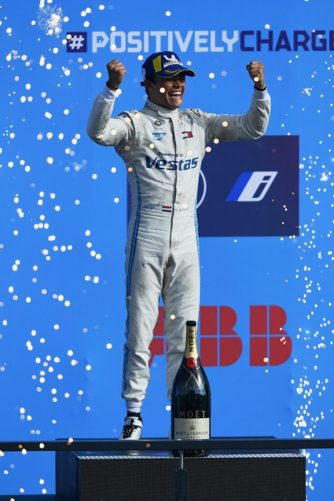 Nyck de Vries Mercedes @FIA FormulaE