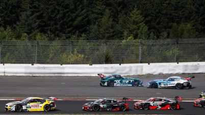 Luca Stolz und Philip Ellis,DTM Nuerburgring ©DTM