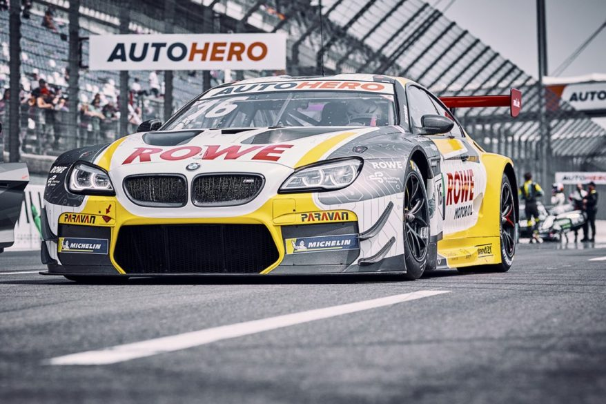 ROWE RACING DTM Lausitzring 2021 Timo Glock #16 BMW M6 GT3 ©Rowe