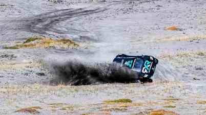 Molly Taylor (AUS), Rosberg X Racing crashes ©Extreme E