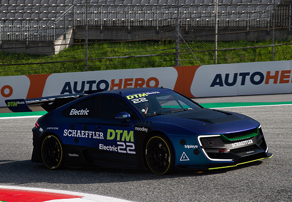 Spielberg: DTM Electric Red Bull Ring 2021 © Hoch Zwei