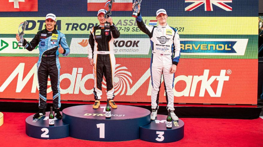 DTM Trophy Assen Top Drei ©DTM